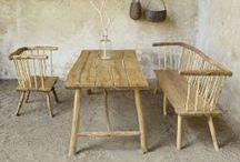 Mobilier de Jardin / Un mobilier d'exception, solide et fonctionnel, fabriqué en France avec des bois certifiés, issus de ressources végétales locales. Chaque pièce est unique et trouvera sa place au jardin, sur une terrasse ou à la maison.