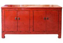 Spice It Up With Fiery Red / Accent your room with red buffets, side chests, console tables, coffee tables and more...