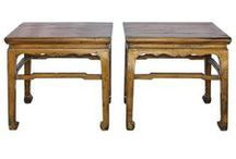 By Your Side / Here you will find an assortment of side tables.