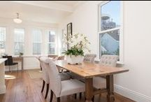 Dine With Us / Your dining room inspiration corner. Here, you will find dining room spaces we have designed. Get inspired!
