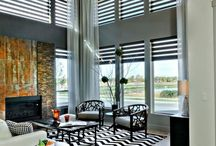 Window Shades / A light and delicate window covering with the characteristics of a horizontal and soft sheer in one. Woven woods, roller shades..  http://www.budgetblinds.com/Livonia/ https://www.budgetblinds.com/BrightonMI/