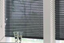 "Aluminum 1"" blinds / Budget Blinds has a variety of mini blinds to choose from. The mini blind is still in style and sometimes your best option for particular applications.   http://www.budgetblinds.com/Livonia/ https://www.budgetblinds.com/BrightonMI/"