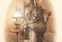 Beatrix Potter rajzok