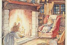 Jill Barklem rajzok