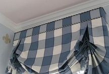 Window topper treatments / Add flare, depth and warmth with toppers. Valances, swags, in a variety of patterns, shapes and colors.  http://www.budgetblinds.com/Livonia/ https://www.budgetblinds.com/BrightonMI/