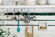 Kitchen and dining / by Honeycovered Heart