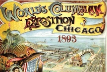 | 1893 | Chicago | World Columbian Exposition | / World's Fair: Columbian Exposition, also known as The Chicago World's Fair, was a World's Fair held in Chicago in 1893 to celebrate the 400th anniversary of Christopher Columbus's arrival in the New World in 1492. The fair had a profound effect on architecture, the arts, Chicago's self-image, and American industrial optimism.  It was designed to follow Beaux Arts principles of design, namely French neoclassical architecture principles based on symmetry, balance, and splendor. / by Christopher Biggs