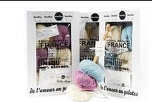 ❤ Our knitting / crochet kits & yarn ❤ / our quality knitting kits for adults and babies - 100% natural fibers - yarns are made in France - More on woolkiss.com