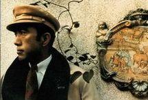 Mishima Yukio ~ 三島由紀夫 / Hiraoka Kimitake 平岡 公威  ~ January 14th - 1925 - Shinjuku, Tokyo ~ November 25th - 1970 - Ichigiya, Tokyo ~ / by Marc Evans