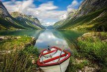 Norwegen - Norge - Norway / by Maria Inhoven