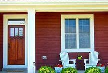 Beautiful Porches / Porches in Newport Cove Waterfront Community, Antioch, IL