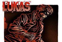 LUKAS  fan-art / illustrazione omaggio alla miniserie creata da Michele Medda e Michele Benevento edita dalla casa editrice Sergio Bonelli editore.