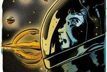 INTERSTELLAR / Illustrazioni basata sul film di Christopher Nolan - Interstellar