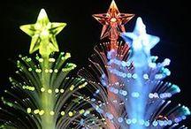 Christmas inspiration / Ideas and gifts for Christmas. Christmas trees and lights.