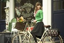 cycle chic / na kole a přitom chic! / why not sport and be chic at the same time? #chic #elegant #cool #style #retro