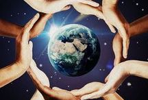HELP SAVE OUR PLANET / We are living on this Planet as if we have another one to go to. TERRY SWEARINGEN