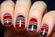 striped nails / by Jennifer Gainley