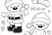 Digi stamps christmas
