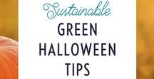 Green Halloween / You don't have to hand out acorns to trick-or-treaters to host a sustainable green Halloween!