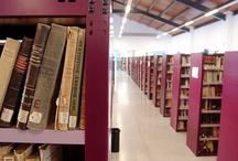 Espacios / Fotografías de las salas, deposito, mobiliario, etc. de la Biblioteca de la Facultad de Derecho y CC. del Trabajo de la Universidad de Sevilla.