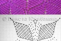 Crochet  - Uncinetto - Filet - Ganchillo / Lana, wood, cotone, cotton Hand Made
