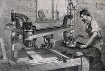Grabados (Trabajadores) / La vida laboral en nuestras colecciones de grabados antiguos : El Bibliomata http://www.flickr.com/photos/fdctsevilla/sets/