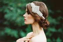Bridal Accessories / Ways to sparkle on your special day! Bridal hair, makeup, flowers and accessories