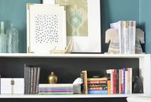 Organization Ideas for the Home / Pretty and practical organization. organization | organize