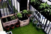 Urban Veda - Urban Life / It doesn't matter how small your garden is, whether you have a balcony, or a patio, try these gorgeous ideas to help you find your serenity in the city x