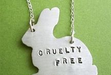 Cruelty free / We don't, and will never, test on animals. UrbanVeda say No to animal testing.