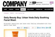 As seen in... / A snapshot of some press coverage we've been lucky to receive at UrbanVeda since we started in October 2013.