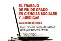 TFM-TFG / Novedades bibliográficas en Trabajo Fin de Grado y Trabajo Fin de Máster