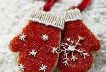 Cookies and Lights! / Fun holiday cookie recipes and great ideas on how to decorate your house for the holidays!