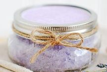 bathtime magic / Bath bombs and salts to die for.  Make your own heavenly scented bath time magic.