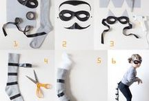 DIY fancy dress / Costumes to make and create.  Cool fancy dress that can be home made. Mickey Mouse, Superwoman, Little Red Riding Hood and loads more.