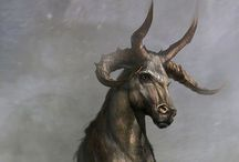 Fantasy animals-creatures