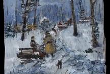zimowy czas / winter time / Obrazy inspirowane polską zimą. /  Pictures inspired polish winter.