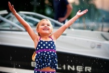 """So Worth It! / A collection of images communicating the essence of the Bayliner brand promise: To make your on-water experience """"So Worth It!"""""""