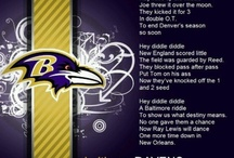 Love my RAVENS / by Melissa McCoy
