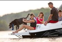 Paws on Deck! / Four-legged members of the family enjoy the pleasures of Bayliner boating just as much the two-legged members. Here's proof! Plus some safety tips for bringing your pet along for the ride.