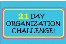 Organization - It's An Action Word! / by Alyson LaBarge