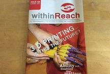 Within Reach and more / What's in our magazine and othe Reach publications