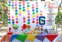 {Party} Sesame Street / I put together this party for my lil guys' 3rd birthday. I did EVERYTHING myself! By Painted and Sprinkled