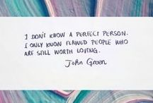 John Green / | the most beautiful words come out of this mouth |