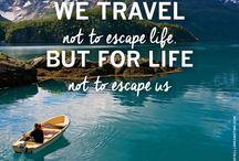 Be a traveller not a tourist.