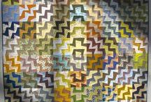 quilts / patchwork / by Huguette DUPRE