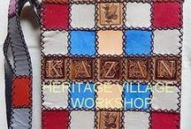 Leather handmade bags  . Кожаные сумки ручной работы . / Handmade leather bags .