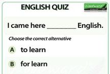 English Quiz / Once a week we will add an English Quiz to test your knowledge of English grammar and vocabulary. Hope you enjoy them. - Woodward English Quiz