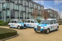Winnersh Triangle Branded Taxis / Our new initiative, branded taxis.  Our name is really going places.  Have you seen them?
