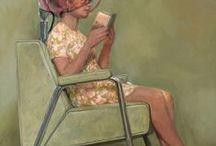 le donne che leggono sono pericolose / Donne che leggono, la bellezza della lettura nelle opere d'arte del 900.